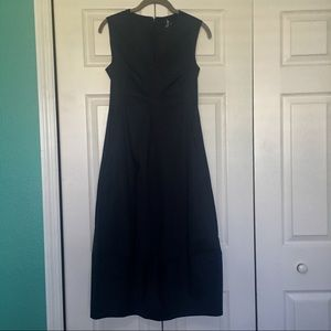 NWT Navy COS Midi Dress Size 4